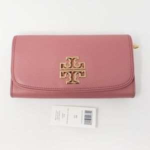 Brand New w/Tag Tory Burch Bifold Leather Wallet